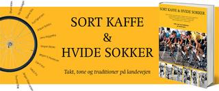 bog sort kaffe og hvide sokker
